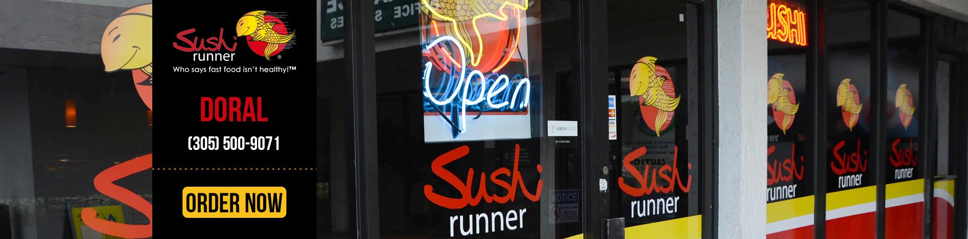 Sushi Runner | Restaurants in Doral | Sushi near me | Sushi